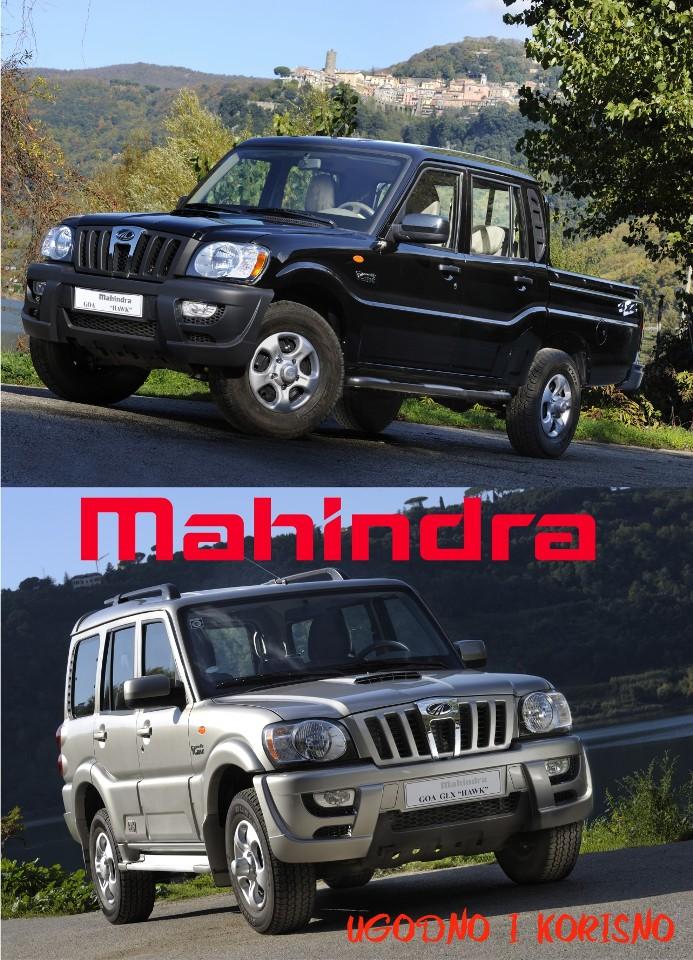 Mahindra 4x4 vozila