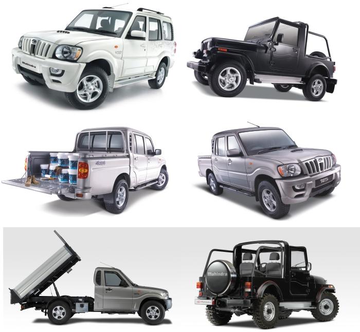 Mahindra gama vozila