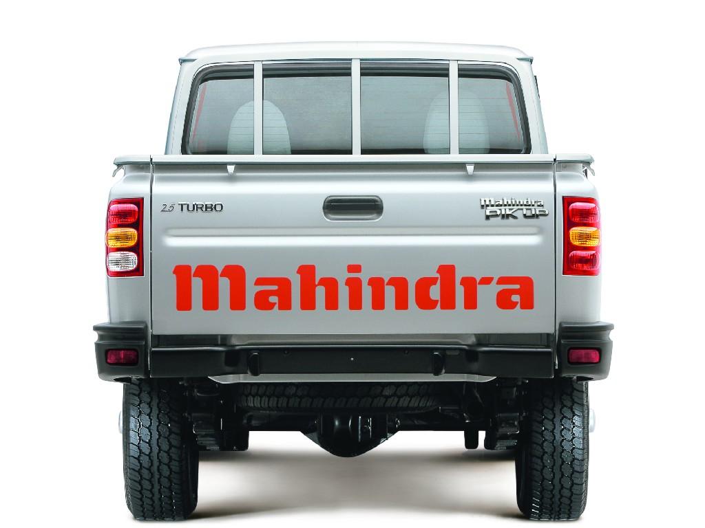 Mahindra Fotogalerija Goa Pickup Single Cabin