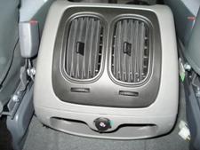 središnja konzola - druga 12 V utičnica - dodatni zračnici klime - klima uređaja