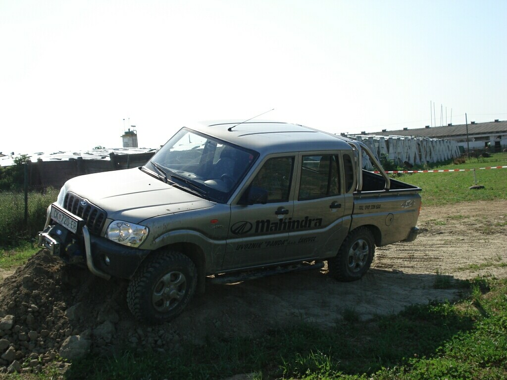 Mahindra - Mahindra off-road Bjelovar